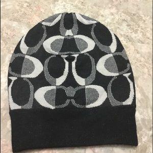 New Coach Signature Winter Hat